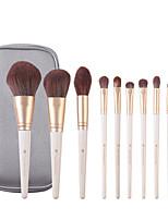 Недорогие -профессиональный Кисти для макияжа 10 шт. Очаровательный Мягкость Новый дизайн удобный Деревянные / бамбуковые за Косметическая кисточка