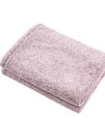 Недорогие -Высшее качество Банное полотенце, Однотонный Хлопко-льняная смешанная ткань Ванная комната 1 pcs