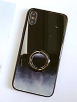 Недорогие -Кейс для Назначение SSamsung Galaxy S9 / S9 Plus / S8 Plus Кольца-держатели / Зеркальная поверхность / Ультратонкий Кейс на заднюю панель Мрамор ТПУ