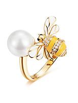 Недорогие -100% стерлингового серебра 925 пробы регулируемый пчела и мед цветок сладкое желание кольца для женщин серебряные украшения партии