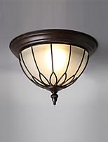 Недорогие -Коридор гостиная заподлицо светильники антикварный кантри-стиль освещение в помещении потолочный светильник окрашенная отделка металлические потолочные светильники