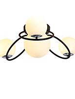 Недорогие -JSGYlights 4-Light Спутник / Шары / промышленные Потолочные светильники Рассеянное освещение Окрашенные отделки Металл Стекло Новый дизайн 110-120Вольт / 220-240Вольт / E26 / E27