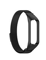 Недорогие -Ремешок для часов для Galaxy Fit E R375 Samsung Galaxy Миланский ремешок Нержавеющая сталь Повязка на запястье