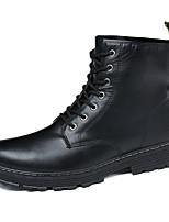 Недорогие -Муж. Армейские ботинки Полиуретан Лето / Осень На каждый день Ботинки Для прогулок Дышащий Черный / Коричневый
