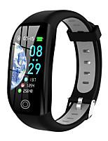 Недорогие -Смарт Часы Цифровой Современный Спортивные силиконовый 30 m Защита от влаги Пульсомер Bluetooth Цифровой На каждый день На открытом воздухе - Черный / серый Черный / зеленый Черный / Красный