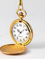Недорогие -Муж. Карманные часы Кварцевый Старинный Новый дизайн Cool Аналого-цифровые Винтаж - Золотой