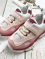 Недорогие -Мальчики / Девочки Удобная обувь Сетка Спортивная обувь Маленькие дети (4-7 лет) Бежевый / Розовый Весна