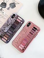 Недорогие -чехол для яблока iphone xs max / iphone 8 plus пылезащитный / imd / шаблон задняя крышка мультяшный мягкий тпу для iphone 7/7 plus / 8/6/6 plus / xr / x / xs