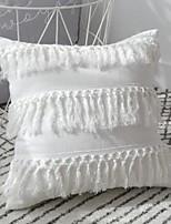 Недорогие -2 штук Хлопок Наволочка, Однотонный Modern Бросить подушку
