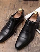 Недорогие -Муж. Обувь Bullock Полиуретан Весна лето Мокасины и Свитер Черный / Коричневый