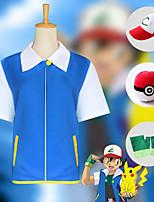 Недорогие -Вдохновлен Pocket Little Monster Косплей Аниме Косплэй костюмы Японский Косплей Костюмы Кофты / Перчатки / Шапки Назначение Муж.