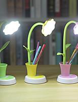 Недорогие -Простой / Современный современный Защите для глаз / Окружающие Лампы Настольная лампа / Лампа для чтения Назначение Спальня / Офис <5V Розовый / Желтый / Зеленый