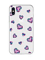 Недорогие -чехол для iphone x xs max xr xs задняя крышка мягкий чехол тпу новый шаблон мультфильм сердце мягкое тпу для iphone5 5s se 6 6p 6s sp 7 7p 8 8p16 * 8 * 1