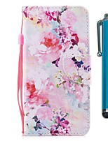 cheap -Case For Samsung Galaxy S10 / S10 Plus / S10 E Wallet / Card Holder / with Stand Full Body Cases Watercolor Flowe PU Leather / TPU for A71 / A51 / A90 / A80 / A70 / A50 / A30S / Note 10 Plus / J6 Plus