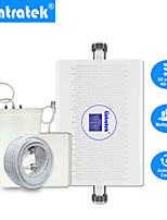 Недорогие -Lintratek новый усилитель сигнала сотовой связи 70 дБ 3g 4g lte 1800 МГц Umts 2100 МГц двухполосный ретранслятор сигналов agc / alc b3&усилитель b1 3g 4g