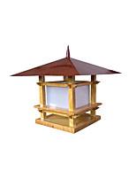 Недорогие -водоустойчивый светильник coloum античный металлический фонарь света столба для светильников внешней стены gardern двора