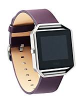 Недорогие -Ремешок для часов для Fitbit Blaze Fitbit Бизнес группа Натуральная кожа Повязка на запястье