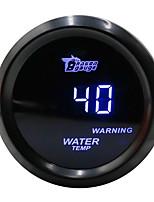 Недорогие -52 мм синий светодиод свет цифровой автомобиль водяной двигатель датчик температуры 12 В температура воды автоматический датчик черный корпус