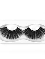 Недорогие -Наращивание ресниц одна пара ресниц накладные ресницы черные синтетические волокна ресницы наращивание глаз макияж w07