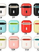 Недорогие -Сумка для наушников Простой стиль Apple Airpods Скретч-доказательство Пластиковый корпус
