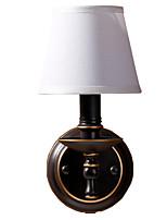 Недорогие -ретро старинные бра бра настенные светильники&усилитель; бра спальня / магазины / кафе металлический настенный светильник