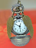 Недорогие -Муж. Карманные часы Кварцевый Старинный Хаки Творчество Новый дизайн Аналого-цифровые Винтаж - Бронзовый