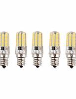Недорогие -5 шт. 3 W LED лампы типа Корн 170-200 lm E14 72 Светодиодные бусины SMD 3014 Новый дизайн Декоративная Милый Тёплый белый Холодный белый 12-24 V