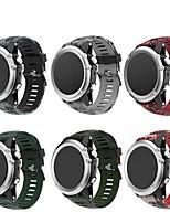 Недорогие -Ремешок для часов для Fenix 5x / Fenix 3 HR / Fenix 3 Garmin Классическая застежка силиконовый Повязка на запястье