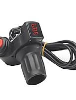 Недорогие -12v-99v вел рукоятку ручки дросселя цифрового дисплея для самоката e-велосипеда электрического