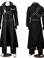 Недорогие -Вдохновлен SAO Swords Art Online Нерон Клавдий / Киригая Казуто Аниме Косплэй костюмы Японский Косплей Костюмы Костюм Назначение Муж. / Жен.