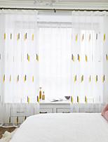 Недорогие -двухпанельная детская комната гостиная спальня столовая вышитая занавеска