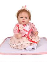 Недорогие -NPK DOLL Куклы реборн Куклы Девочки 20 дюймовый Безопасность Подарок Очаровательный Детские Универсальные Игрушки Подарок