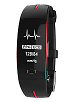 Недорогие -p3 умный браслет ppgecg фотоэлектрический электрод ЭКГ измерения артериального давления артериального давления ip67 водонепроницаемый