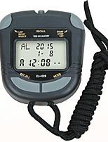Недорогие -Муж. Спортивные часы Японский Цифровой Черный Секундомер Новый дизайн будильник Цифровой На открытом воздухе Новое поступление - Черный Два года Срок службы батареи