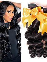 Недорогие -3 Связки Бирманские волосы Свободные волны Не подвергавшиеся окрашиванию 100% Remy Hair Weave Bundles Человека ткет Волосы Удлинитель Пучок волос 8-28 дюймовый Нейтральный Ткет человеческих волос
