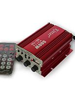 Недорогие -автомобильный мотоцикл usb усилитель мощности бытовой двухканальный мини hi-fi стерео аудио усилитель с поддержкой инфракрасного пульта дистанционного управления fm / mp3 / aux sizesma-700