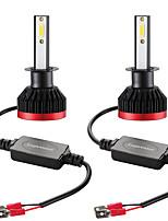 Недорогие -Мини светодиодные лампы фар автомобиля h1 100 Вт 20000lm 6000 К фар автомобиля