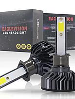 Недорогие -2 шт. / Компл. Ev8 120 Вт 8000lm 6500 К мини супер яркий h1 6 К лампы накаливания