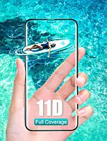 Недорогие -11d изогнутое закаленное стекло на iphone 7 8 6 6s плюс x защитная пленка для экрана iphone x xr xs max полностью защитное стекло