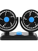 Недорогие -12v 360 градусов универсальный регулируемый автоматический вентилятор охлаждения с двойной головкой автомобиля малошумный автомобильный вентилятор аксессуары автомобильный вентилятор воздухоохладитель