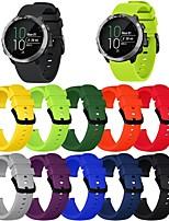 Недорогие -Ремешок для часов для Vivoactive 3 Garmin Классическая застежка силиконовый Повязка на запястье