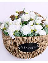 Недорогие -1шт Вазы и корзины Круглые Искуственные цветы Настенная