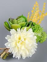 Недорогие -Искусственные Цветы 1 Филиал Классический Свадьба Pастений Букеты на стол