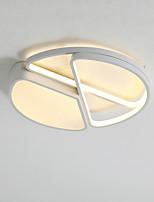 Недорогие -CONTRACTED LED® 3-Light Линейные / Оригинальные Потолочные светильники Рассеянное освещение Окрашенные отделки Металл LED, Новый дизайн 110-120Вольт / 220-240Вольт Теплый белый / Холодный белый
