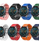 Недорогие -Ремешок для часов для Huawei Watch GT Huawei Классическая застежка силиконовый Повязка на запястье