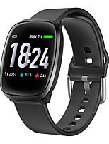 Недорогие -E102 Smart Watch Bluetooth Поддержка фитнес-трекер уведомить / пульсометр спортивные SmartWatch совместимы с телефонами Iphone / Samsung / Android