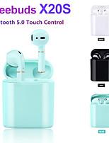 Недорогие -LITBest X20S TWS True Беспроводные наушники Беспроводное EARBUD Bluetooth 5.0 Стерео