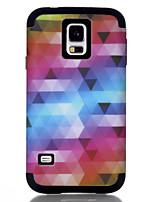 Недорогие -Кейс для Назначение SSamsung Galaxy S7 / S6 edge / S6 Защита от удара Кейс на заднюю панель Полосы / волосы / Геометрический рисунок / Градиент цвета ТПУ / ПК