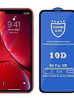 Недорогие -10d изогнутое закаленное стекло на для экрана протектора экрана iphone xr полное покрытие клея защитное стекло для пленки iphone aifon xr x r rx