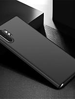 Недорогие -Кейс для Назначение SSamsung Galaxy Note 9 / Note 8 / Galaxy Note 10 Матовое Кейс на заднюю панель Однотонный ПК